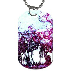 Colors Dog Tag (One Side)
