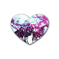 Colors Rubber Coaster (Heart)
