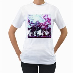 Colors Women s T-Shirt (White)