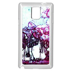 Colors Samsung Galaxy Note 4 Case (White)