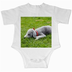 Bedlington Terrier Sleeping Infant Creepers