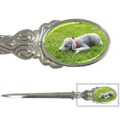 Bedlington Terrier Sleeping Letter Openers