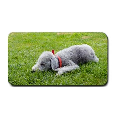 Bedlington Terrier Sleeping Medium Bar Mats