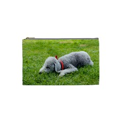 Bedlington Terrier Sleeping Cosmetic Bag (Small)