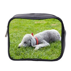 Bedlington Terrier Sleeping Mini Toiletries Bag 2-Side