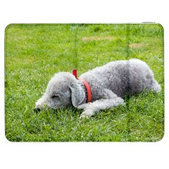 Bedlington Terrier Sleeping Samsung Galaxy Tab 7  P1000 Flip Case