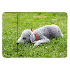 Bedlington Terrier Sleeping Samsung Galaxy Tab 8.9  P7300 Flip Case