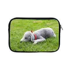 Bedlington Terrier Sleeping Apple iPad Mini Zipper Cases