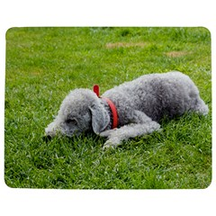 Bedlington Terrier Sleeping Jigsaw Puzzle Photo Stand (Rectangular)