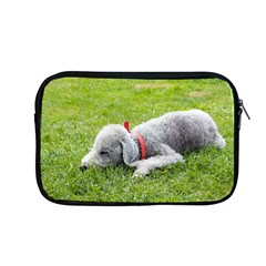 Bedlington Terrier Sleeping Apple MacBook Pro 13  Zipper Case