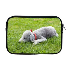 Bedlington Terrier Sleeping Apple MacBook Pro 17  Zipper Case