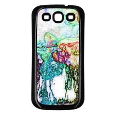 Colors Samsung Galaxy S3 Back Case (Black)