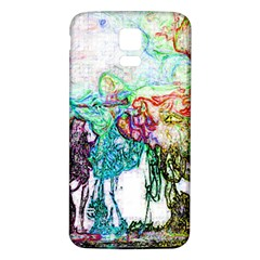Colors Samsung Galaxy S5 Back Case (White)