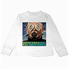 Chemtrails Kids Long Sleeve T-Shirts