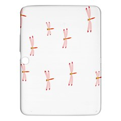 Animal Dragonfly Fly Pink Samsung Galaxy Tab 3 (10.1 ) P5200 Hardshell Case