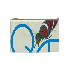 Butterfly Cosmetic Bag (Medium)