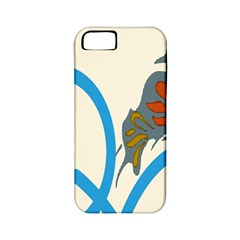 Butterfly Apple iPhone 5 Classic Hardshell Case (PC+Silicone)