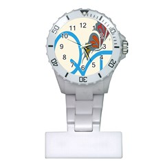 Butterfly Plastic Nurses Watch