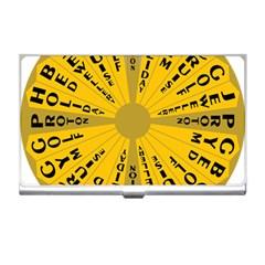 Wheel Of Fortune Australia Episode Bonus Game Business Card Holders