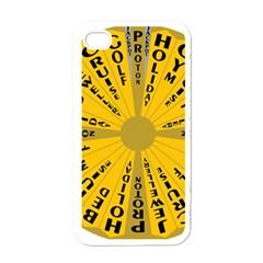Wheel Of Fortune Australia Episode Bonus Game Apple iPhone 4 Case (White)