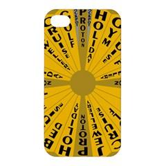 Wheel Of Fortune Australia Episode Bonus Game Apple iPhone 4/4S Hardshell Case