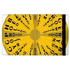 Wheel Of Fortune Australia Episode Bonus Game Apple iPad 3/4 Flip Case