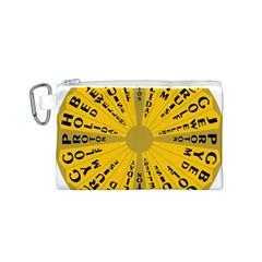 Wheel Of Fortune Australia Episode Bonus Game Canvas Cosmetic Bag (S)