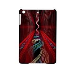 Artistic Blue Gold Red iPad Mini 2 Hardshell Cases