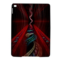 Artistic Blue Gold Red iPad Air 2 Hardshell Cases