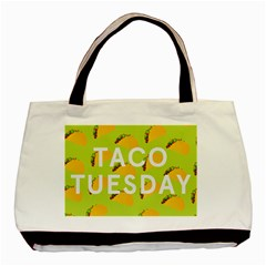 Bread Taco Tuesday Basic Tote Bag (Two Sides)