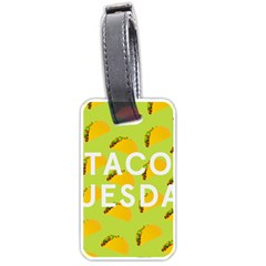 Bread Taco Tuesday Luggage Tags (two Sides)