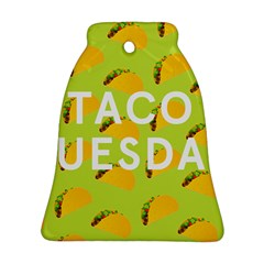 Bread Taco Tuesday Ornament (Bell)