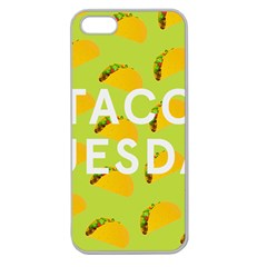 Bread Taco Tuesday Apple Seamless iPhone 5 Case (Clear)
