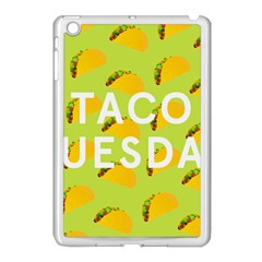 Bread Taco Tuesday Apple iPad Mini Case (White)