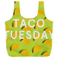 Bread Taco Tuesday Full Print Recycle Bags (L)