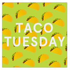 Bread Taco Tuesday Large Satin Scarf (Square)