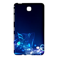 Abstract Musical Notes Purple Blue Samsung Galaxy Tab 4 (7 ) Hardshell Case