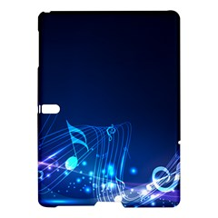 Abstract Musical Notes Purple Blue Samsung Galaxy Tab S (10.5 ) Hardshell Case