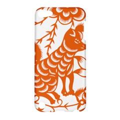 Chinese Zodiac Dog Star Orange Apple iPod Touch 5 Hardshell Case