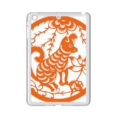 Chinese Zodiac Dog Star Orange iPad Mini 2 Enamel Coated Cases