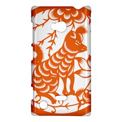 Chinese Zodiac Dog Star Orange Nokia Lumia 720