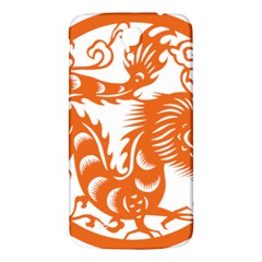 Chinese Zodiac Dragon Star Orange Samsung Galaxy Mega I9200 Hardshell Back Case