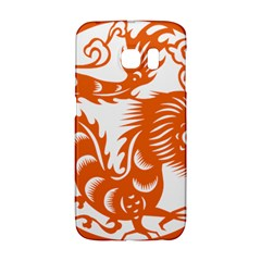 Chinese Zodiac Dragon Star Orange Galaxy S6 Edge