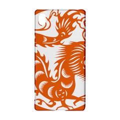 Chinese Zodiac Dragon Star Orange Sony Xperia Z3+