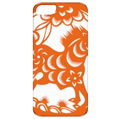 Chinese Zodiac Horoscope Horse Zhorse Star Orangeicon Apple iPhone 5 Classic Hardshell Case