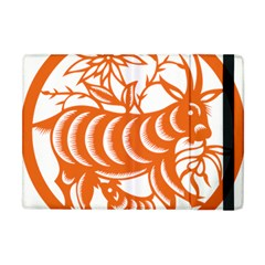 Chinese Zodiac Goat Star Orange Apple iPad Mini Flip Case