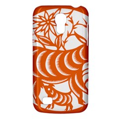 Chinese Zodiac Goat Star Orange Galaxy S4 Mini