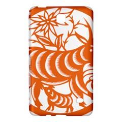 Chinese Zodiac Goat Star Orange Samsung Galaxy Tab 4 (8 ) Hardshell Case