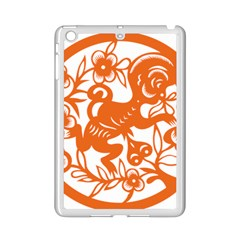 Chinese Zodiac Horoscope Monkey Star Orange iPad Mini 2 Enamel Coated Cases