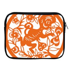 Chinese Zodiac Horoscope Monkey Star Orange Apple iPad 2/3/4 Zipper Cases